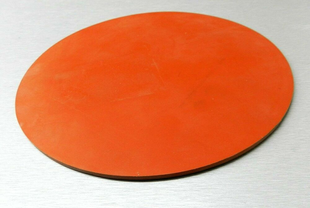 Silicone rubber pad quot round gasket vacuum assist jewelry