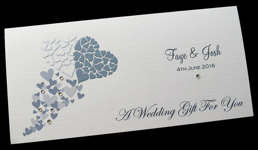 Personalised Wedding Day Money/Voucher/Gift Card/Wallet/Envelope ...