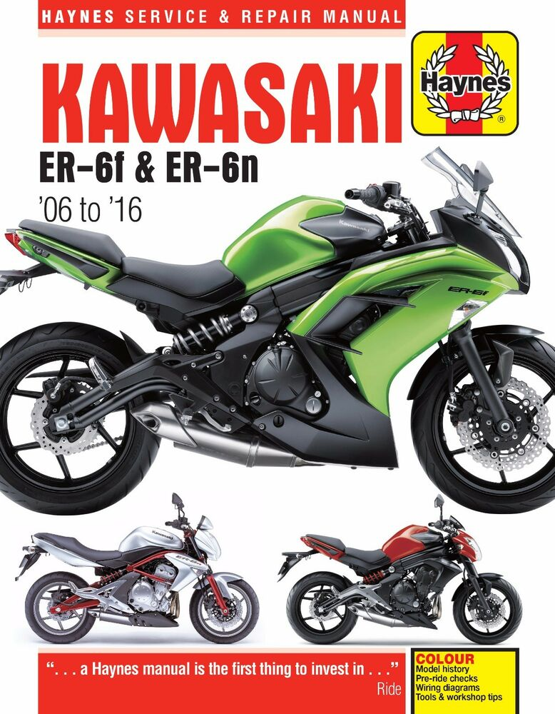 s l1000 haynes manual kawasaki er 6f er 6 & er6 er 6n 2006 2016 new ebay kawasaki er 5 wiring diagram at edmiracle.co