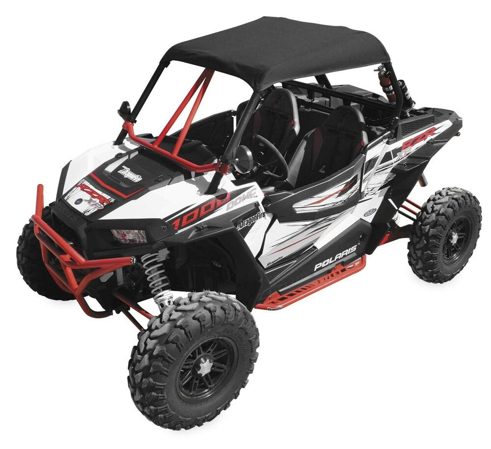 dragonfire polaris sun top soft top roof polaris rzr xp 1000 2014 ebay. Black Bedroom Furniture Sets. Home Design Ideas