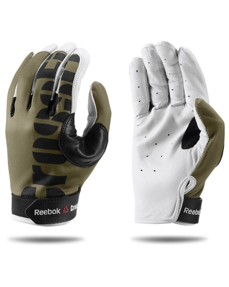 Reebok Crossfit Training Gloves: Reebok Crossfit Green White Gloves MENS Size Small