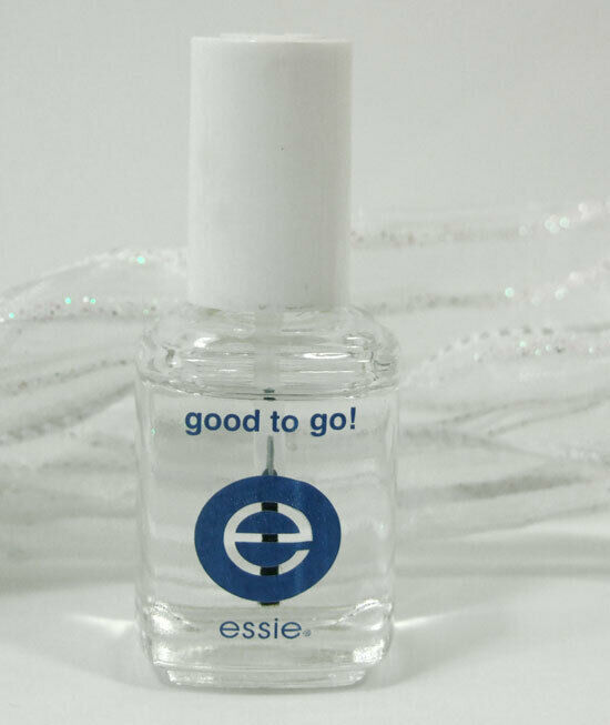 Essie Nail Polish Lacquer Good To Go Top Coat .5 Oz Clear