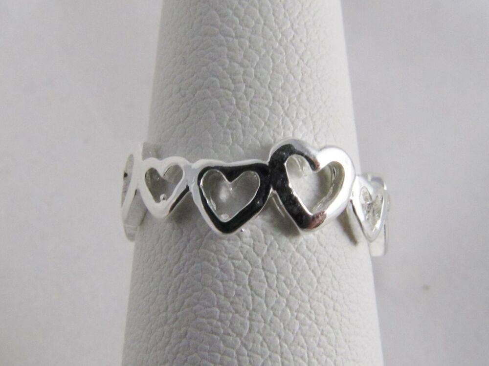 new wholesale toe ring 925 sterling silver plate fashion