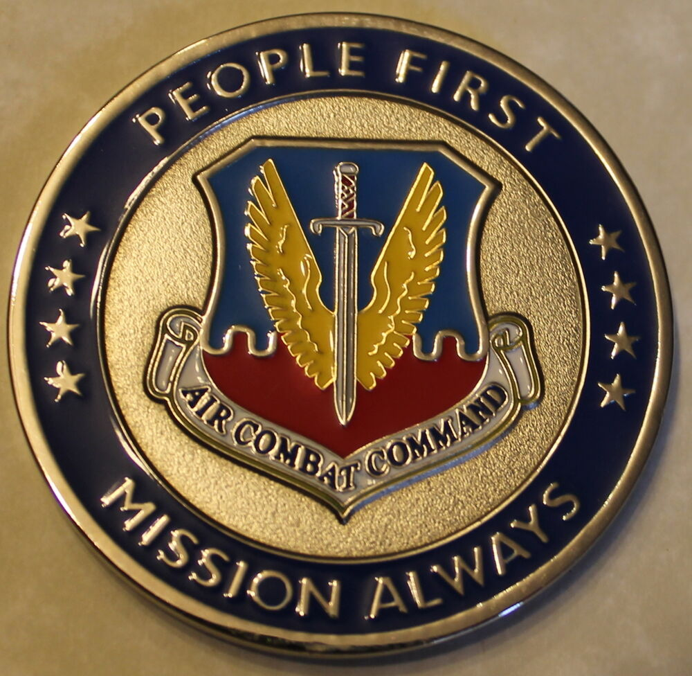 Air Combat Command General William M Fraser III Air Force