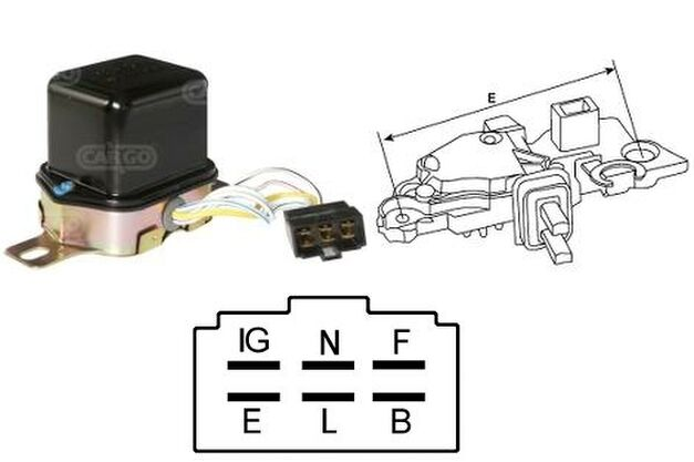 Wiring Diagram For A Truck Also Ford External Voltage Regulator Wiring