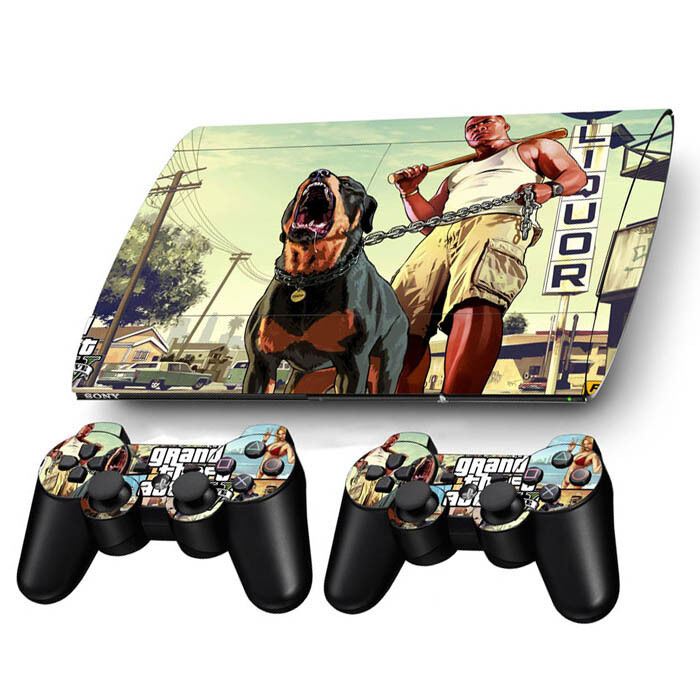 Skin Sticker For PS3 PlayStation Super Slim 4000 Console ...