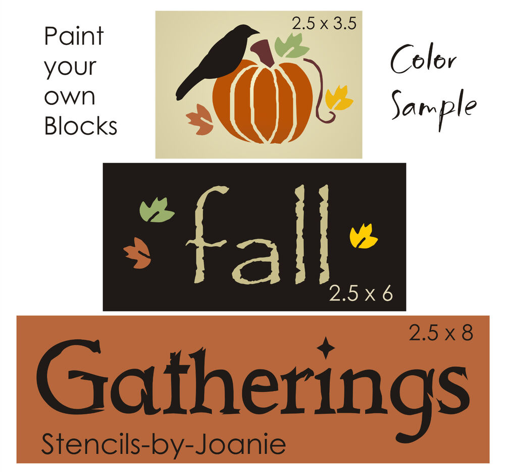 Fall Gatherings Primitive Pumpkin Crow Autumn Leave Country Harvest ...