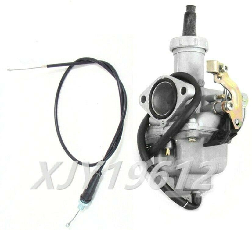 Honda Trx 200: Carburetor W/ Throttle Cable For Honda ATC185S ATC200E
