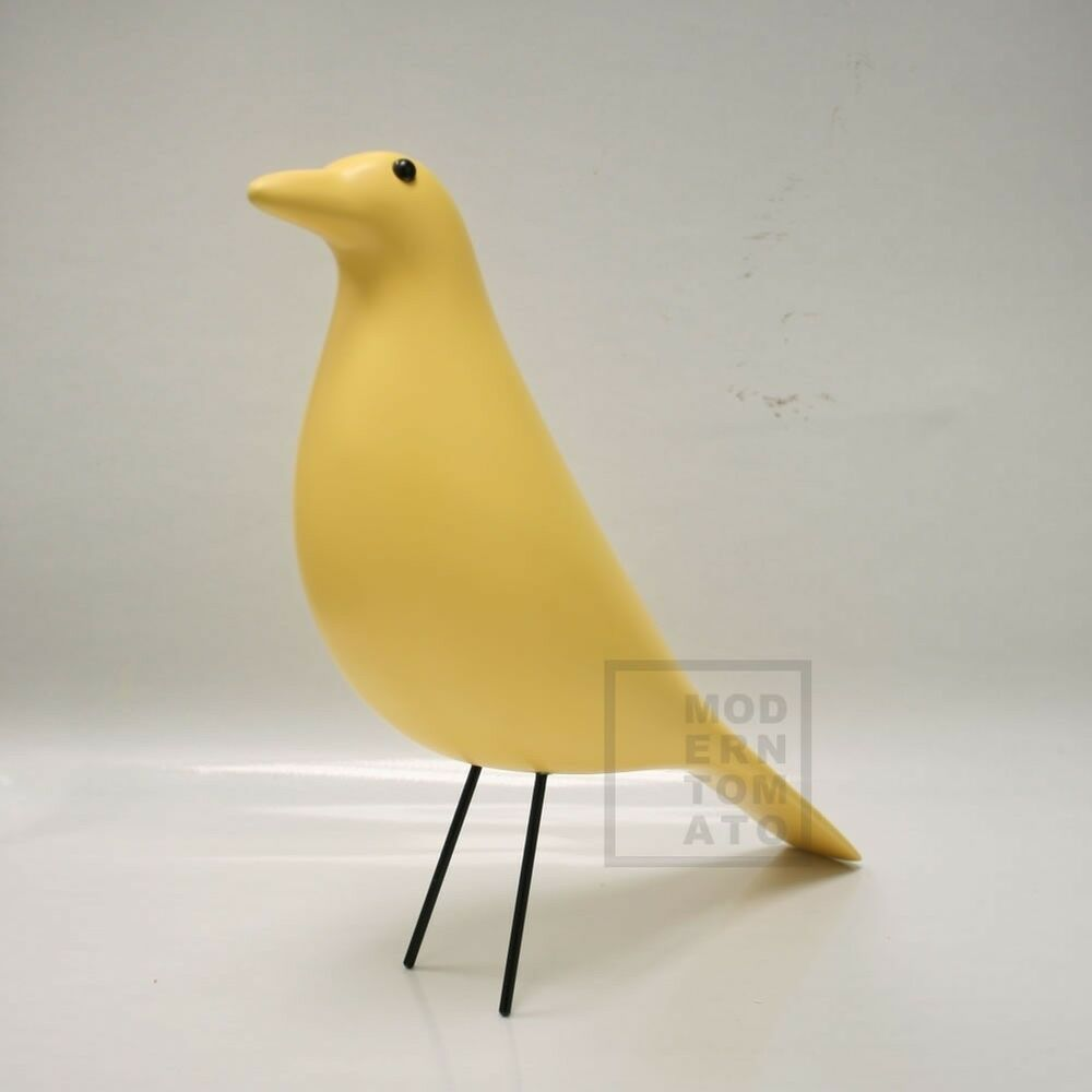 Mid century danish modern house bird ornament dove for Modern house ornaments