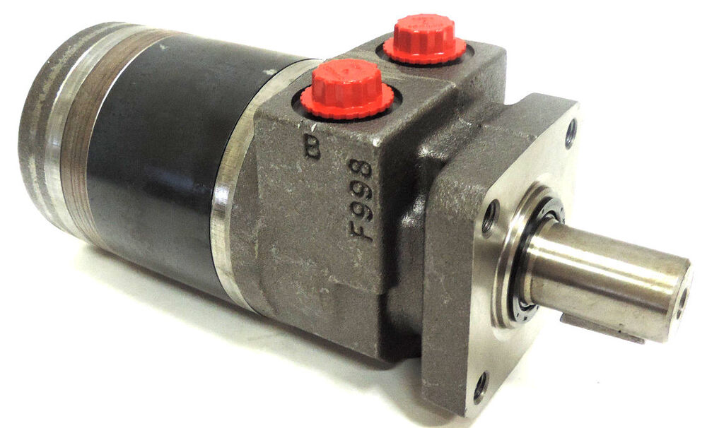 New Parker Tb0295fp100aaab Hydraulic Motor 1 Shaft 4 Bolt
