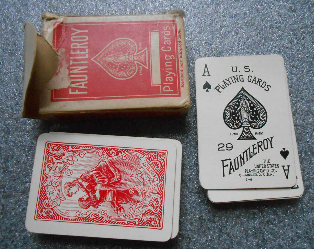 Vintage Deck Fauntleroy Miniature Playing Cards Ebay