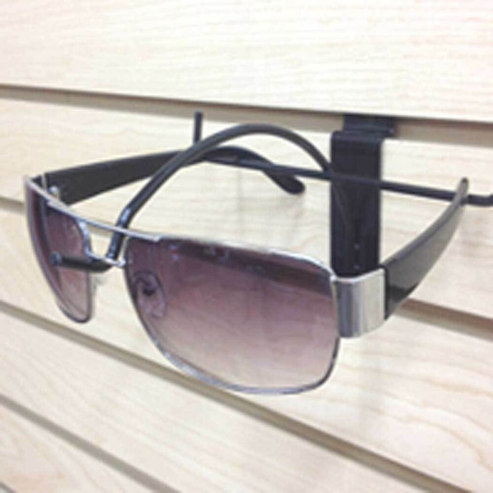 Glasses Frame Display : Sunglass Slatwall Eyewear Glasses Display Single Black ...