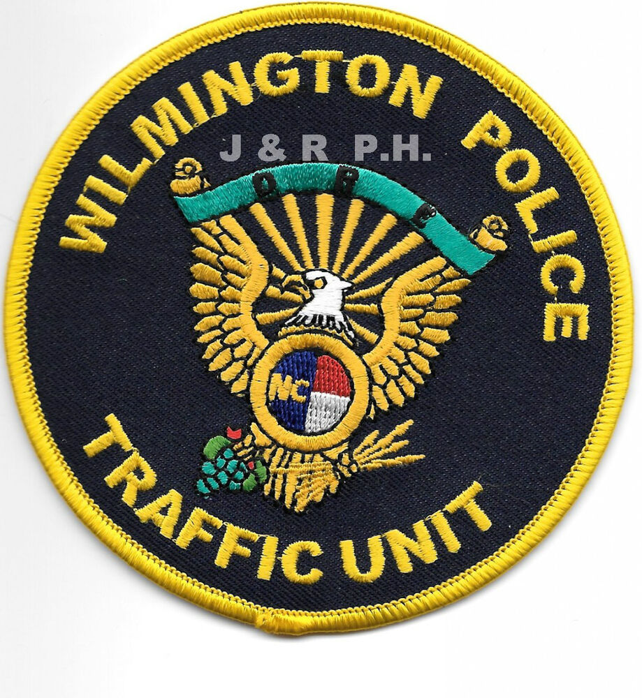 "Wilmington Traffic Unit, NC (4"" Round Size) Shoulder"