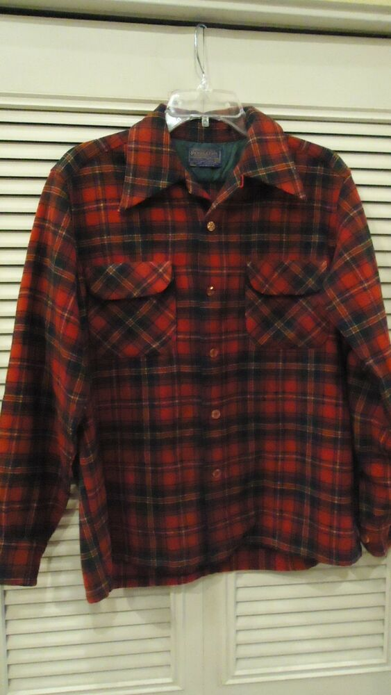 Red Flannel Mens Shirt