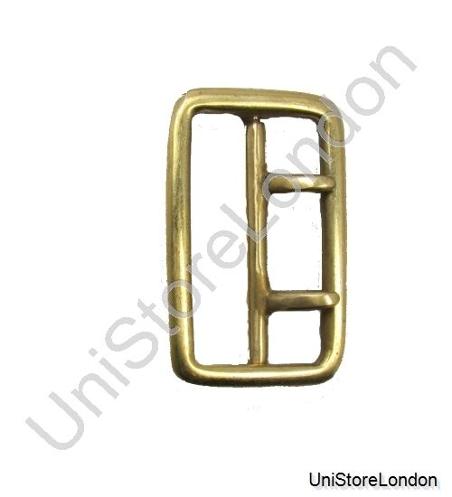 buckle sam browne 2 prong buckle brass gold for 57mm wide