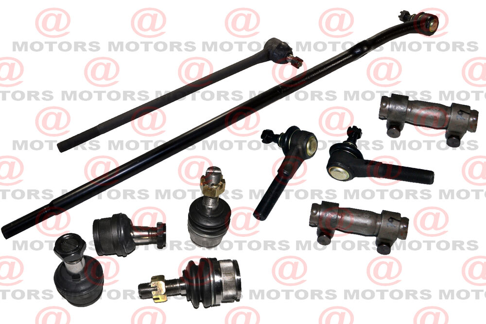 Steering 4 Tie Rod 4 End Ball Joint 2 Sleeve 4wd Ford