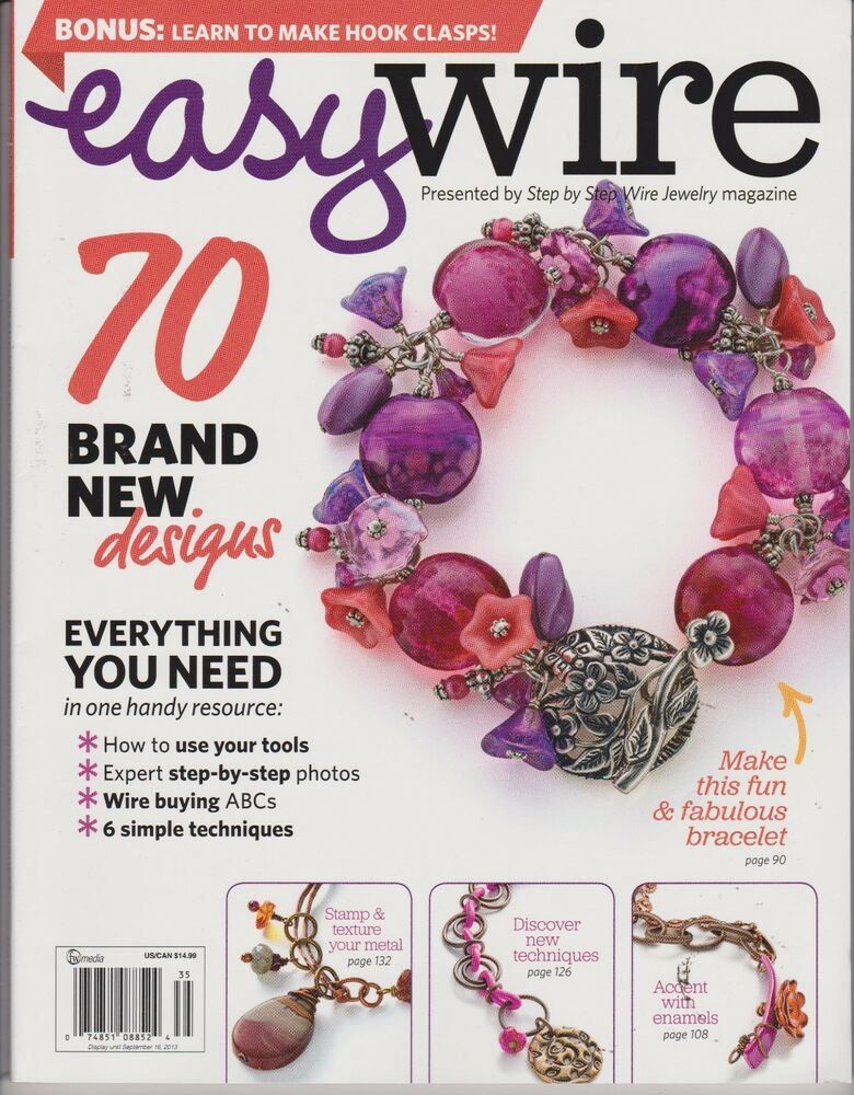 easy wire jewelry magazine 2013 step by step bonus