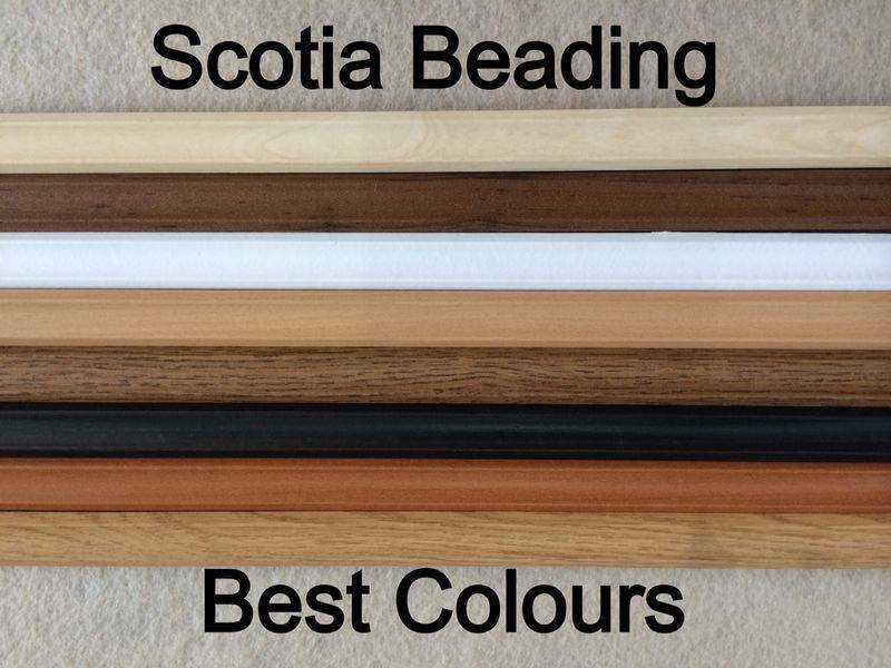 Laminate Flooring Scotia Beading Edging White