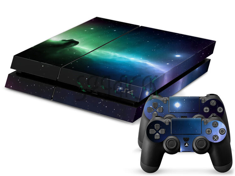 Deep Space Decal Sticker For Playstation 4 Ps4