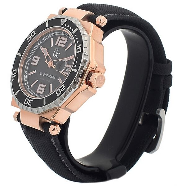NEW GUESS COLLECTION GC WATCH 2 TONE ROSE GOLD & SS DATE ...