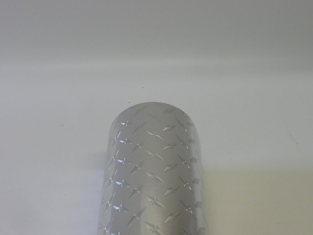 Uber Film Roll Of Chequer Plate Sticky Back Plastic Self