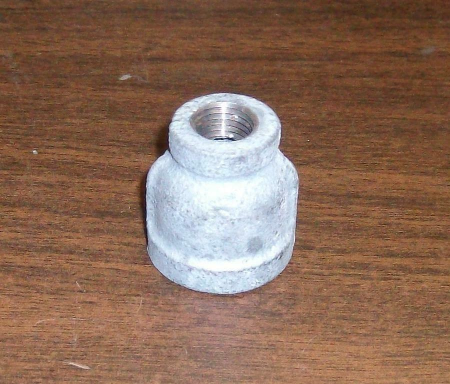 Galvanized steel reducer quot  ebay