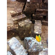 1lb Pure Natural Raw African Black Soap from Ghana - 16oz Handmade Organic Soap