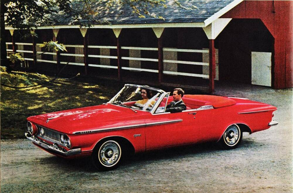 old print red 1962 plymouth fury convertible auto ad ebay. Black Bedroom Furniture Sets. Home Design Ideas