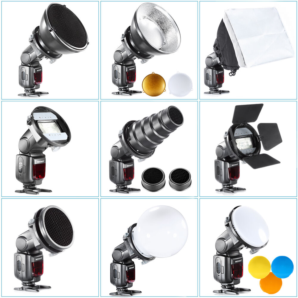 SGA-K9 flash Accessories Kit (Barndoor/Snoot/Softbox ...