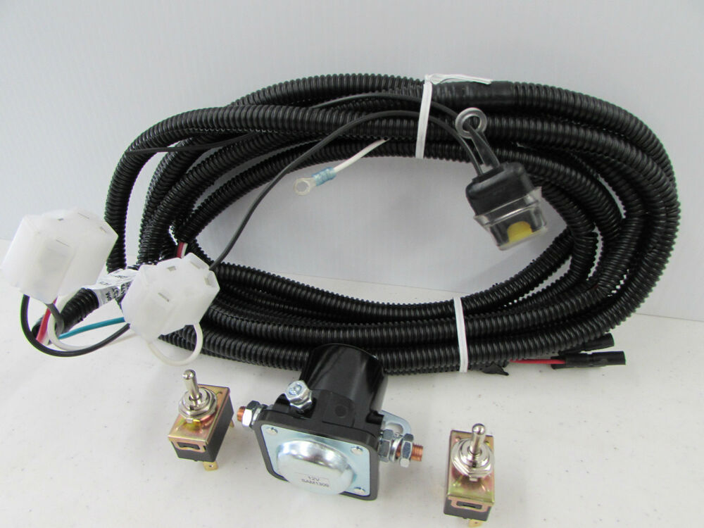genuine meyer snow plow e47 e46 e60 harness w switches solenoid 15478 ebay