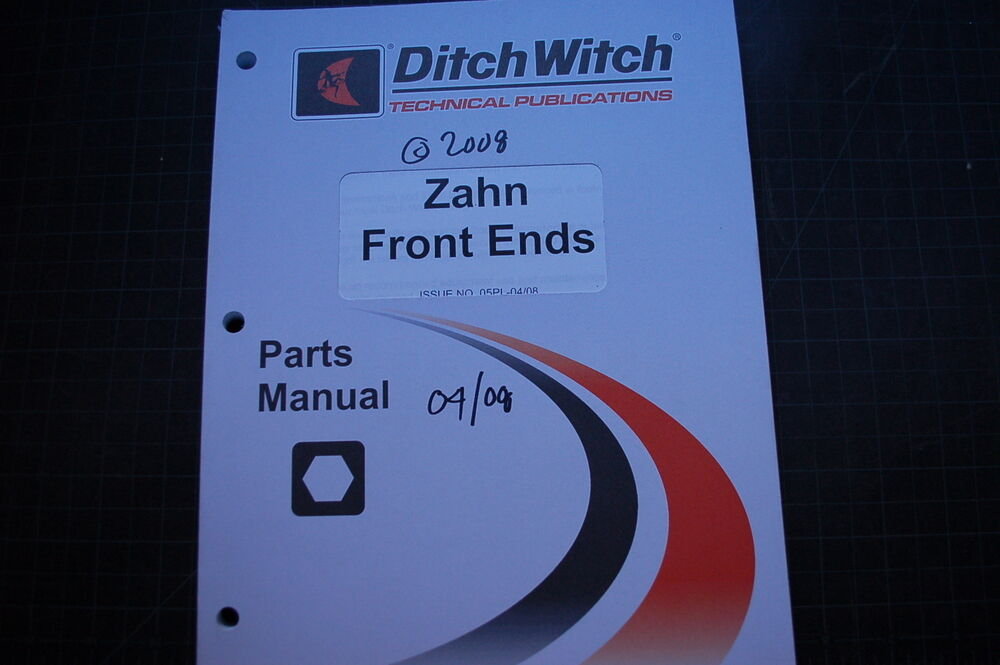 Ditch Witch 255sx parts manual