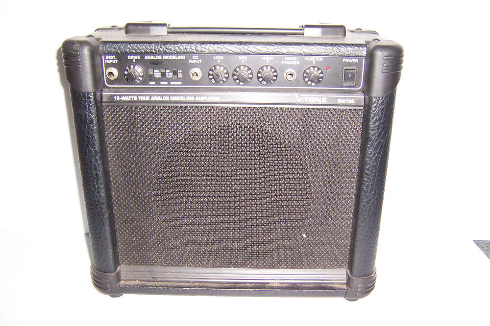 behringer v tone gm 108 true analog modeling 15 watt guitar amplifier amp ebay. Black Bedroom Furniture Sets. Home Design Ideas