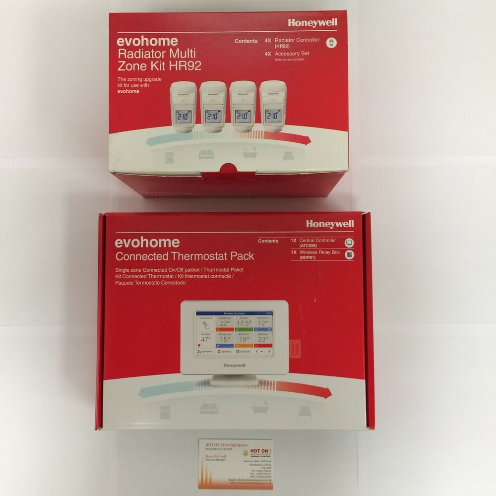Honeywell Evohome Connected Thermostat Mega Value Pack ...
