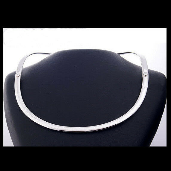 georg jensen silver neckring 440 button torun ebay. Black Bedroom Furniture Sets. Home Design Ideas