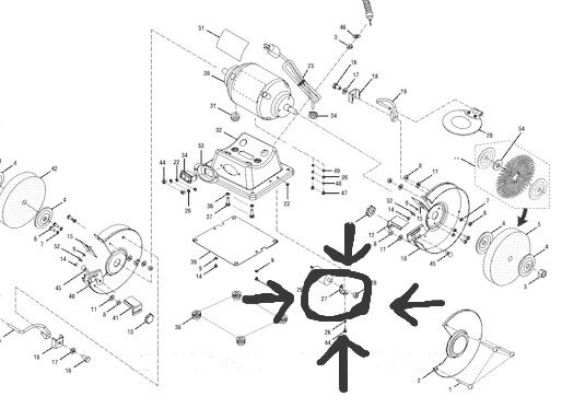 Bench Grinder Wiring Diagram With Capacitor