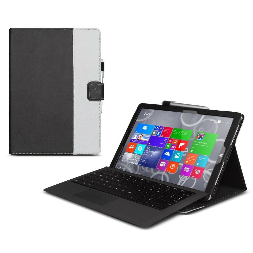 Manvex Leather Case for the NEW Microsoft Surface PRO 3 ...