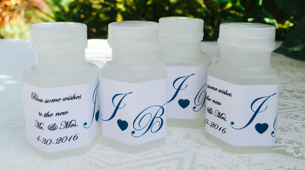 120 personalized wedding couple u0026 39 s initial bubble labels for party or favor boxes