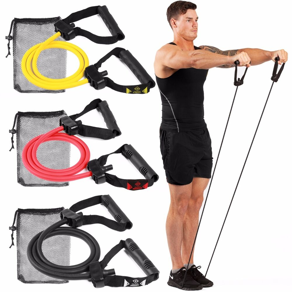 Workout Bands Com: Gallant Resistance Bands Gym Exercise Tubes Stretch Heavy