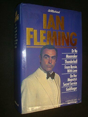 IAN FLEMING ON HER MAJESTY'S SECRET SERVICE UK 4TH 1963 w/DJ NPC