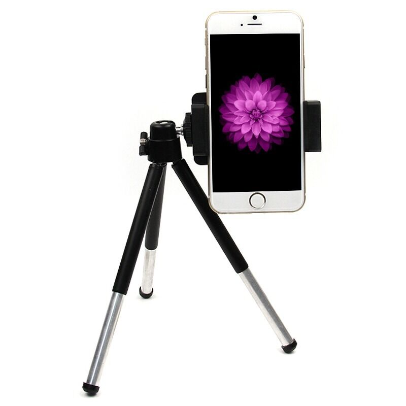 iphone camera stand rotatable tripod stand mount holder for iphone 6 5s 8863