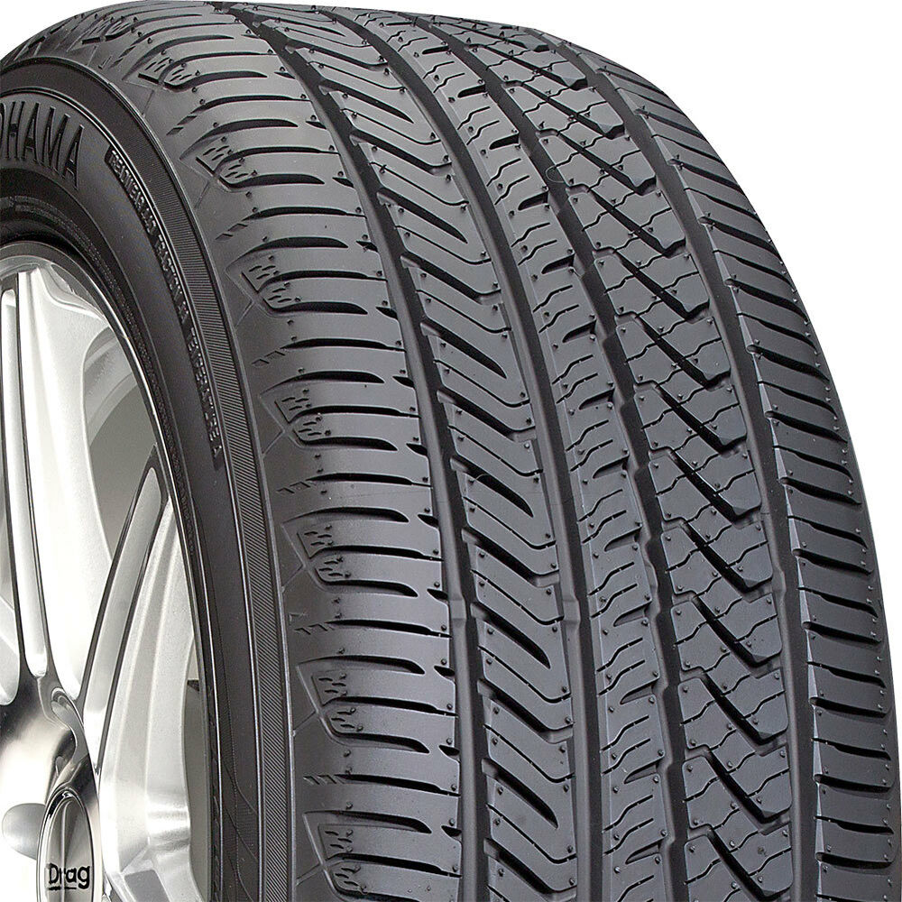 2 new 255 40 17 yokohama advan sport a s 40r r17 tires ebay. Black Bedroom Furniture Sets. Home Design Ideas