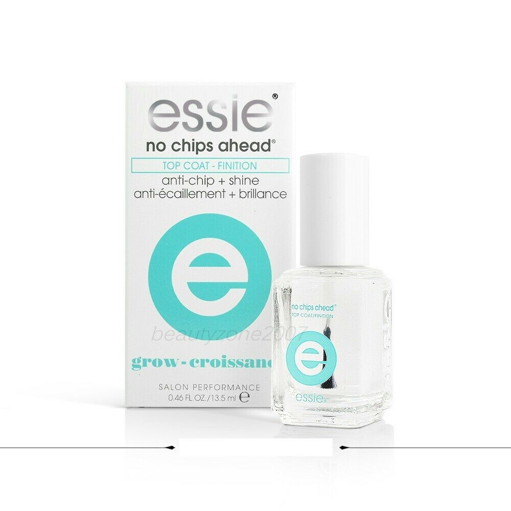 No Chip Nail Polish Reviews: Essie Nail Polish Treatment No Chip Ahead Top Coat 0.46oz