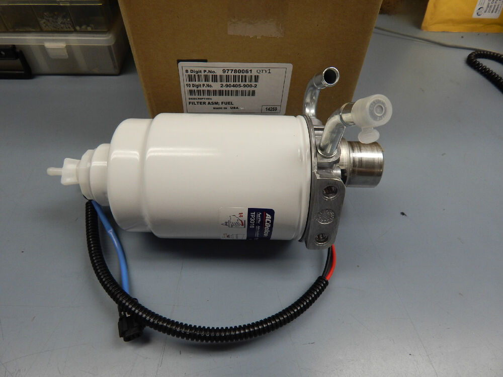 Genuine Gm Duramax  Lb7  Fuel Filter 01