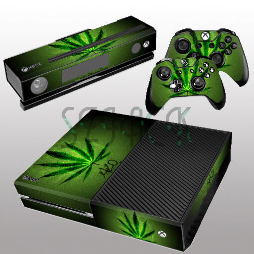 Book Cover Pictures Xbox One : Green cool decal skin sticker cover protector for xbox one