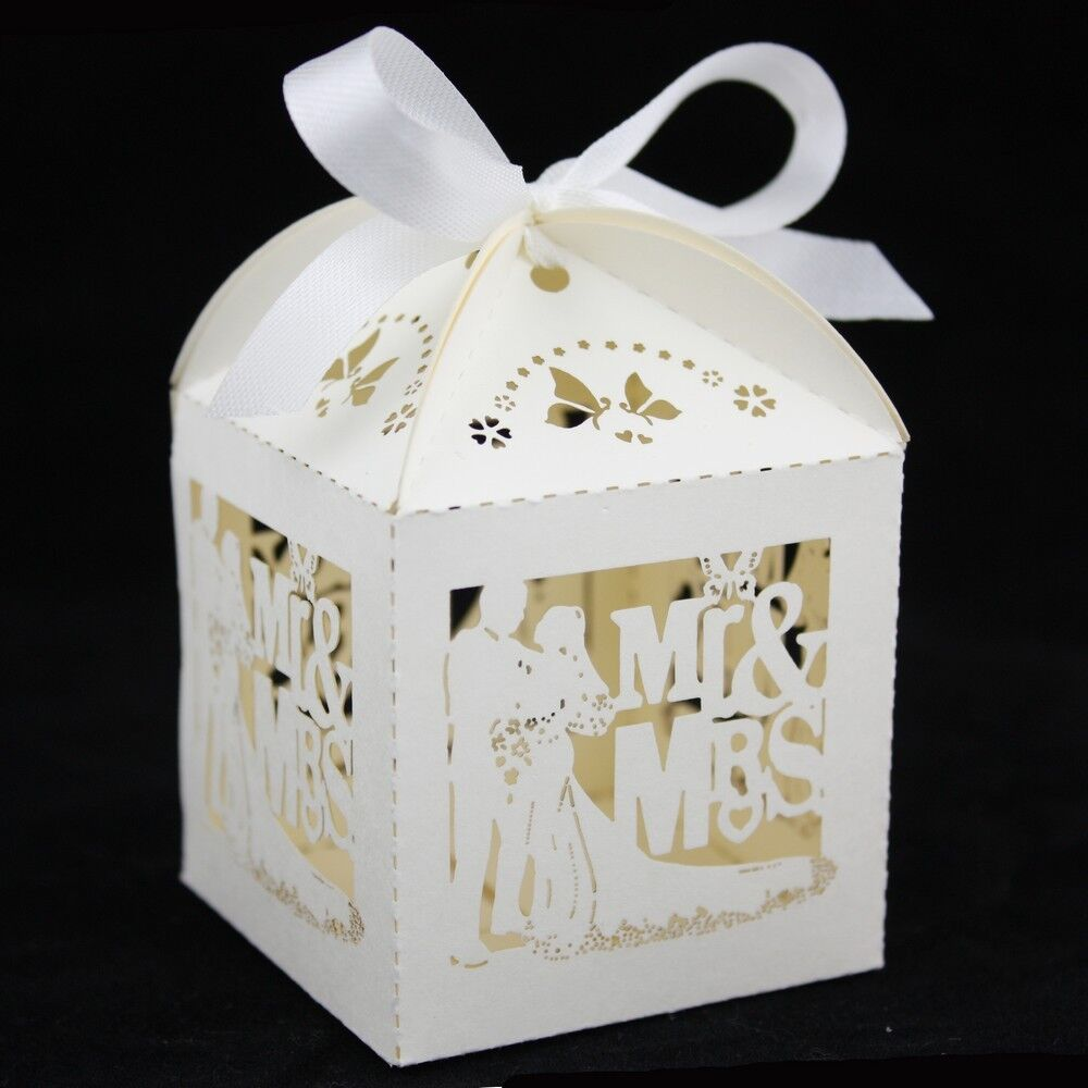 New luxury wedding sweets favour boxes wedding favours for Wedding table favours