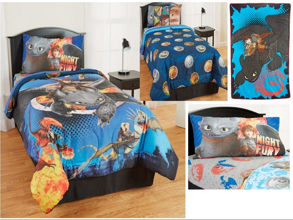 Kids Boys How To Train Your Dragon 2 Bedding Bed In A Bag