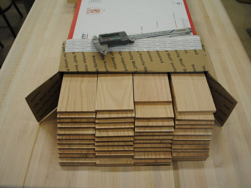 36 Oak thin boards lumber wood crafts 212 x 1212 x 1