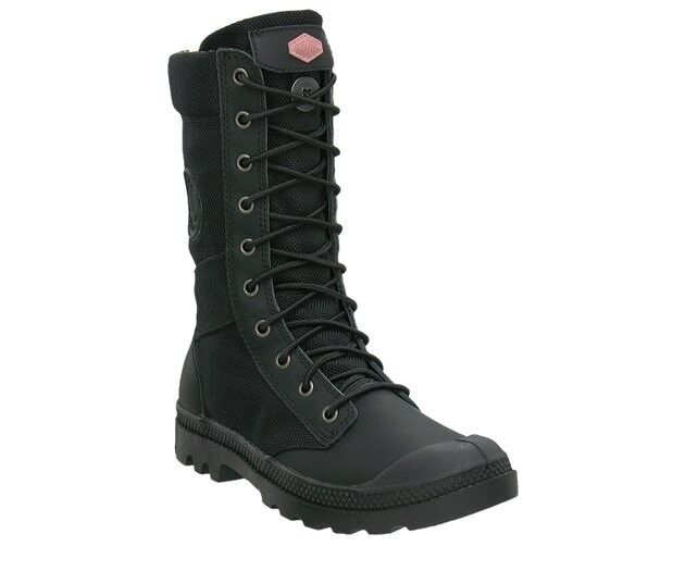 womens palladium boots pa tactical black with