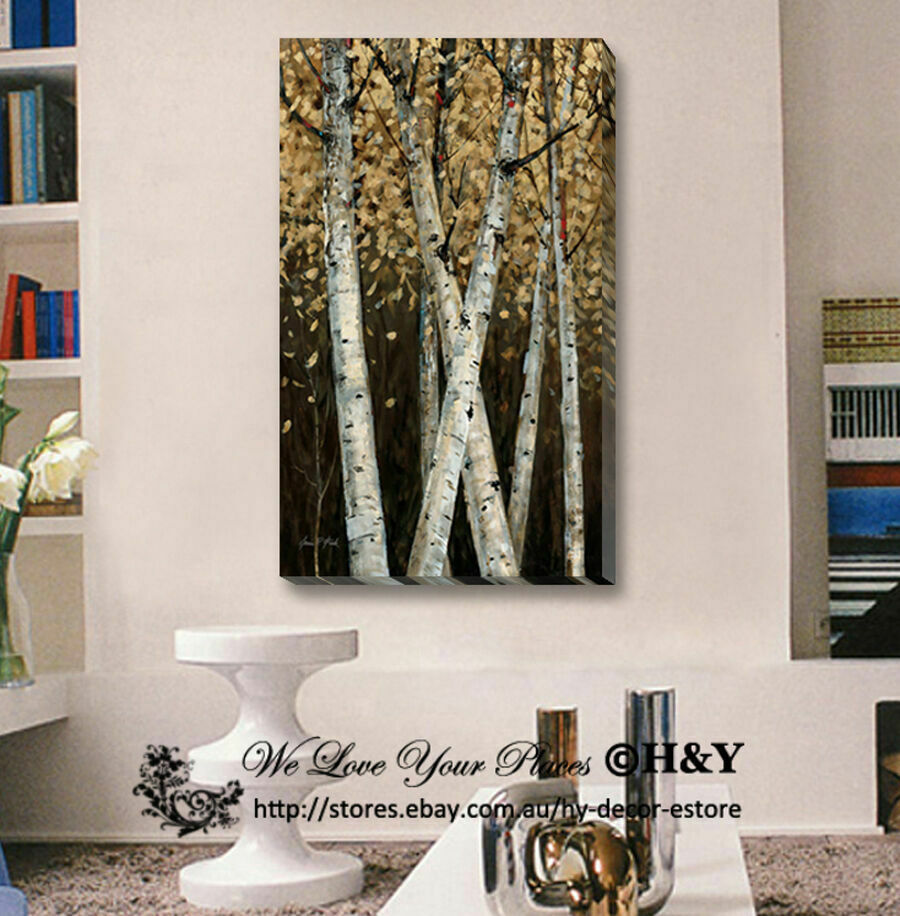 40x70x3cm Abstract Tree Giclee Canvas Prints Wall Art Home