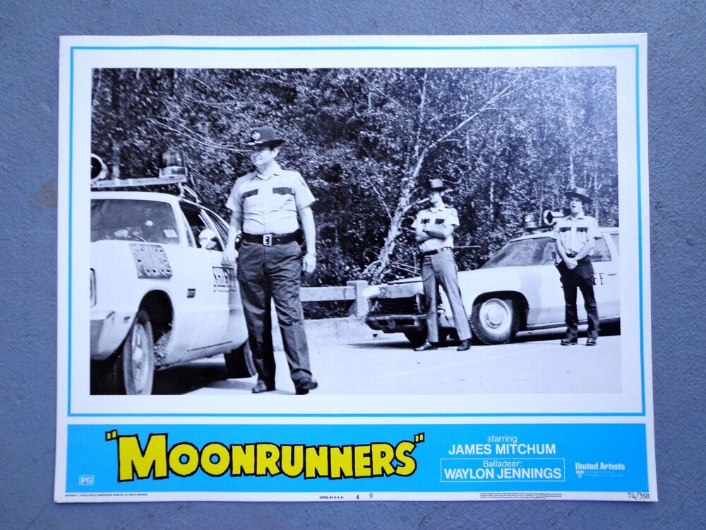 Moonrunners movie lobby card poster Waylon Jennings ...